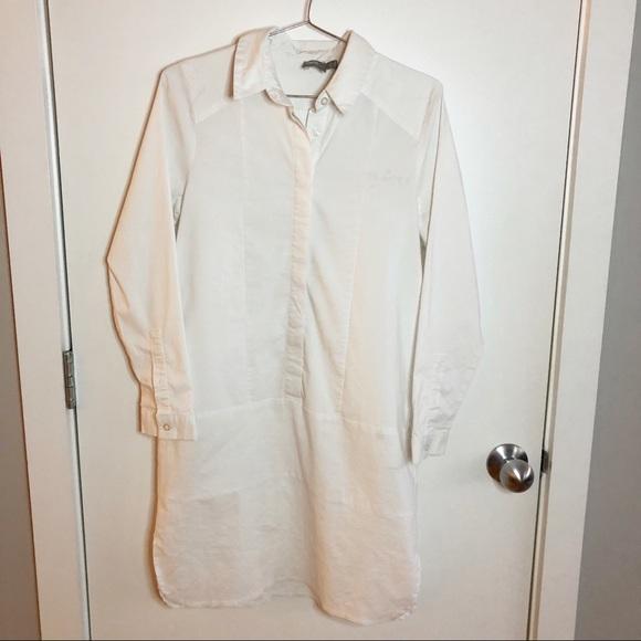 ASOS White Shirt Dress